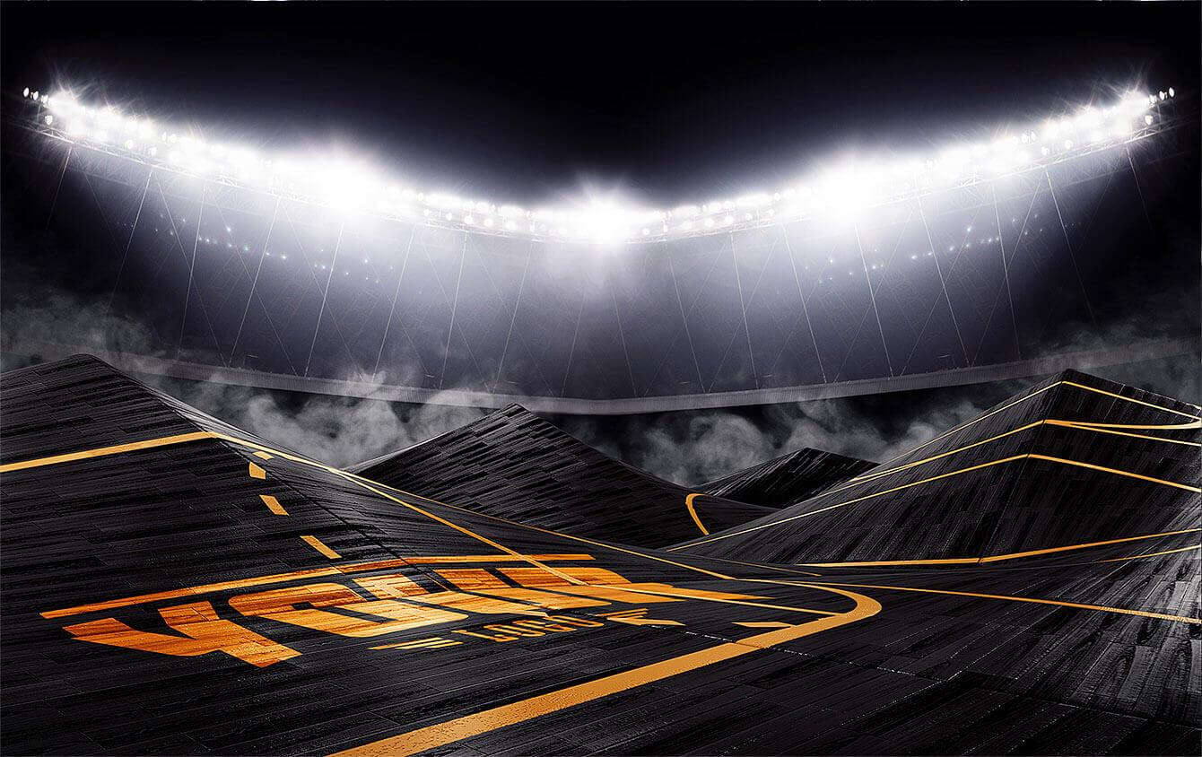 Football Field Hockey Rink Basketball Court Photoshop