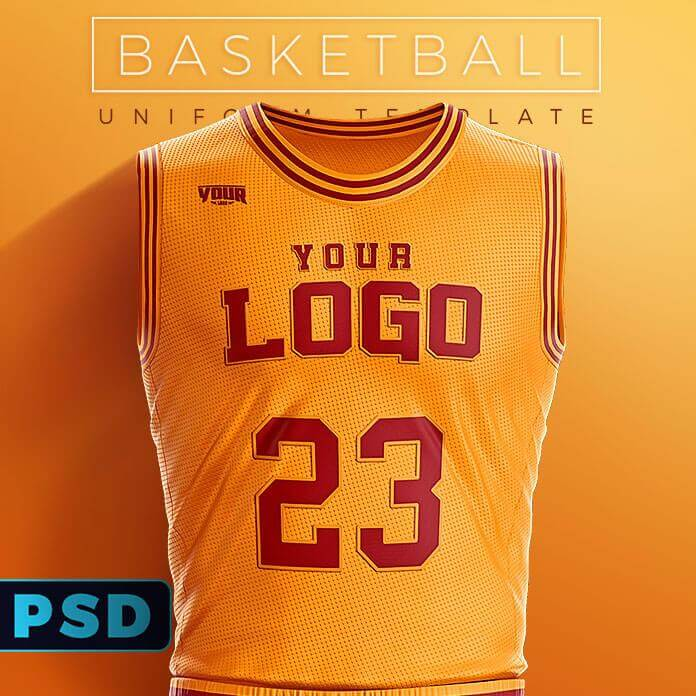 e6a50b0be Slam Dunk Basketball Uniform Template – Sports Templates