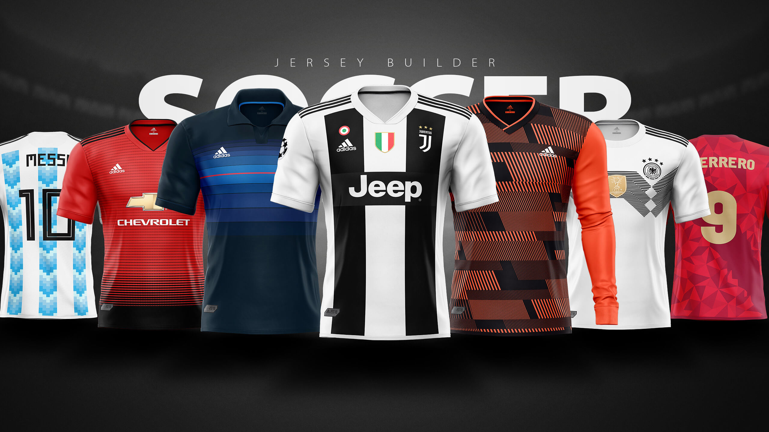 Football Soccer Jersey Builder Template V 2 Sports Templates