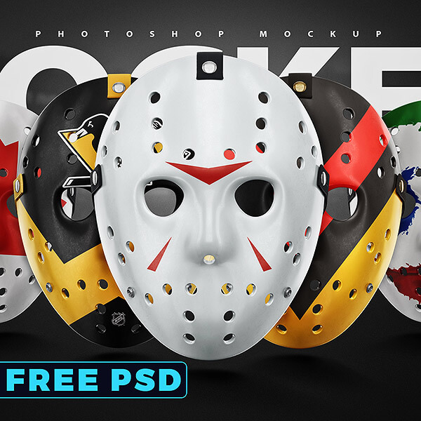 Sports Tempaltes - Hockey Face Mask