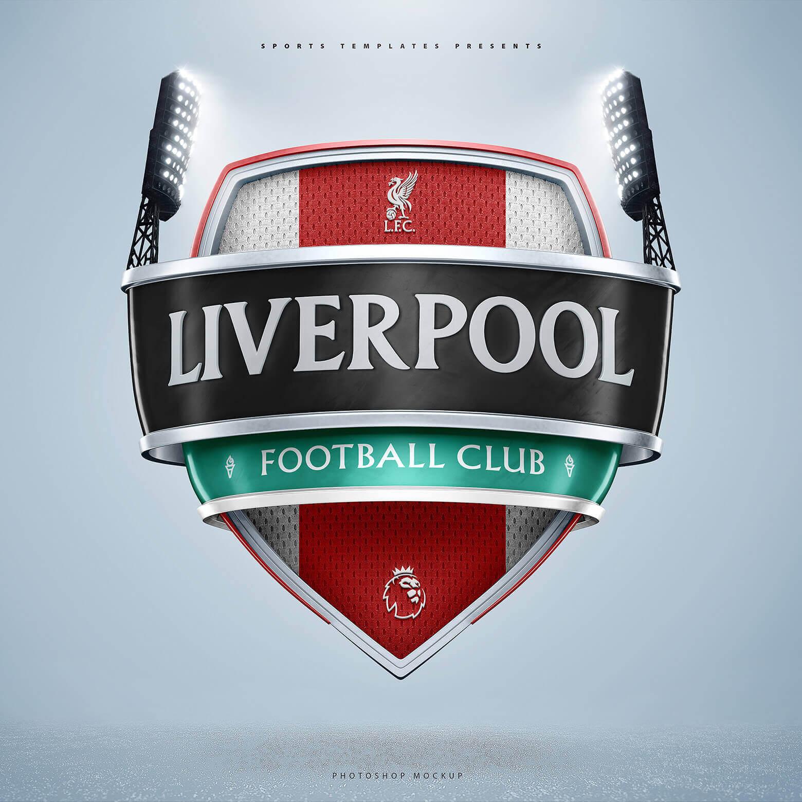 Liverpool 3D Crest